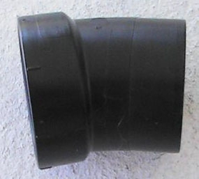 "1-1/2"" ABS Street 22-1/2 Elbow (02984)"