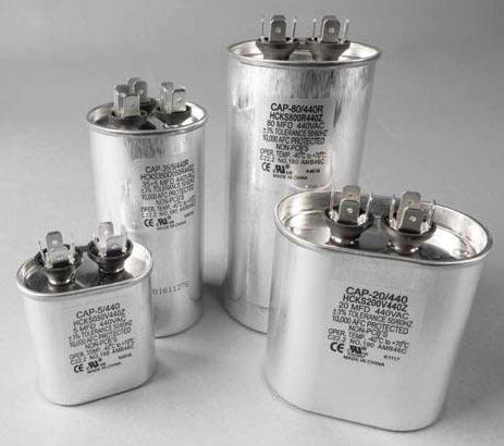 A/C Capacitors & Contactors