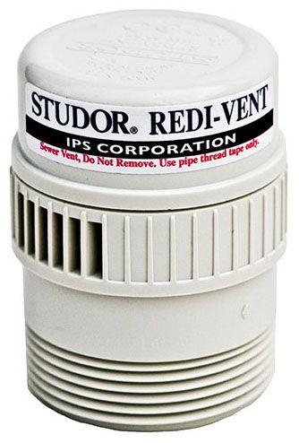 PVC Redi-Vent Drain Vent Air Admittance Valve