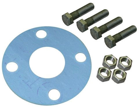 "1-1/2"" Flange Bolt Pack with Full Face Gasket"