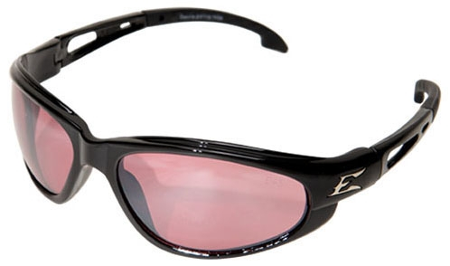 Wolf Peak Safety Glasses with Rose Mirror Lens