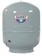 "Zilmet Cal-Pro Hydronic Expansion Tank, 1/2"" MPT, 6.3 Gallon, In-Line"