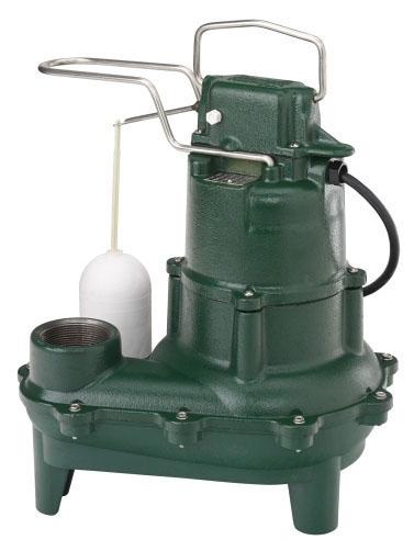 "2"" Auto Sewage Pump 1/2 HP 115 Volt"