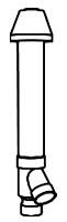 """2"""" CONCENTRIC VENT KIT CVENT-2  (196053)"""