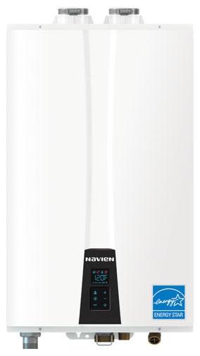 Navien Tankless Water Heater, 199K BTU