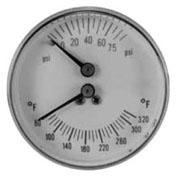 "1/4"" Cbm Tridicator Gauge 3-1/2"" Element"