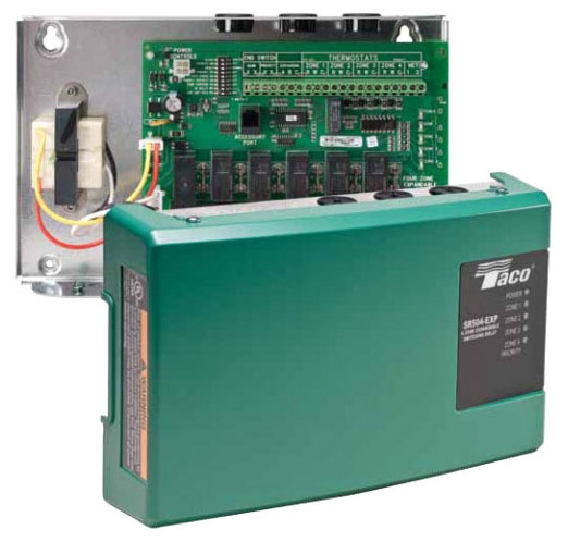 Taco Switching Relay 1 Zone Sr501-4