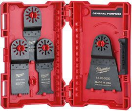 Milwaukee Tool Blade Kit for Multi-Tool Blade (6 per Pack), Universal