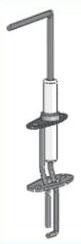 Triangle Tube Burner Igniter and Cable for 110/PRESTIGE Solo Condensing Gas Boiler