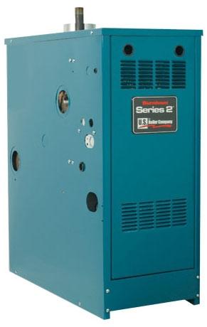 Burnham Residential Gas Boiler, 118000 BTU/Hour, 84% AFUE, Cast Iron, Intermittent Ignition, LP, 2-Way, Hot Water, Atmospheric