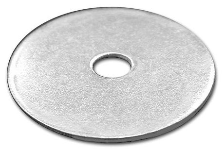 "3/8"" Flat Washer - Zinc Plated"