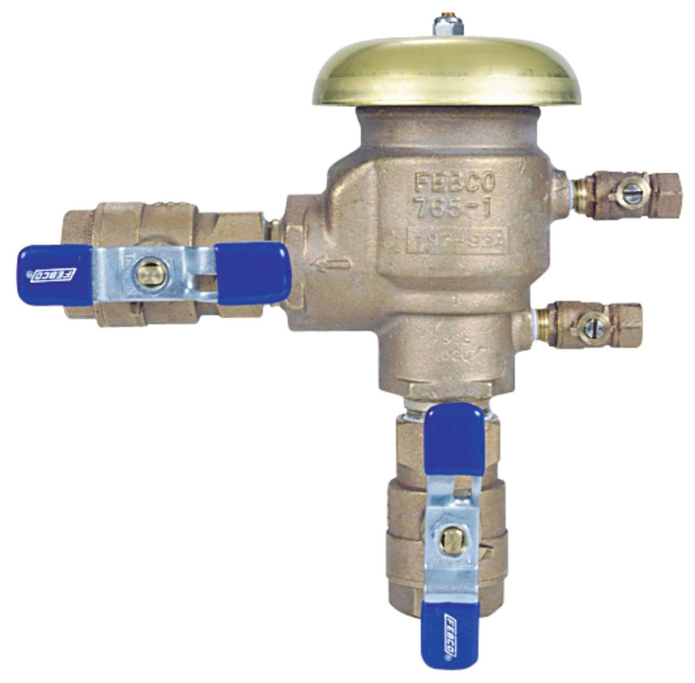 "1"" PRESSURE VACUUM BREAKER W/ BALL VALVES"