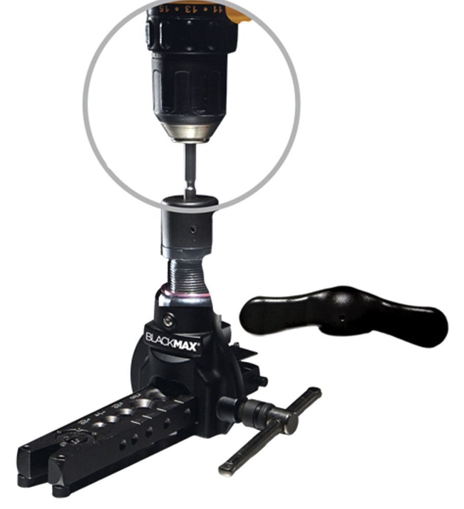 BlackMAX Drill-Powered Flaring Tool