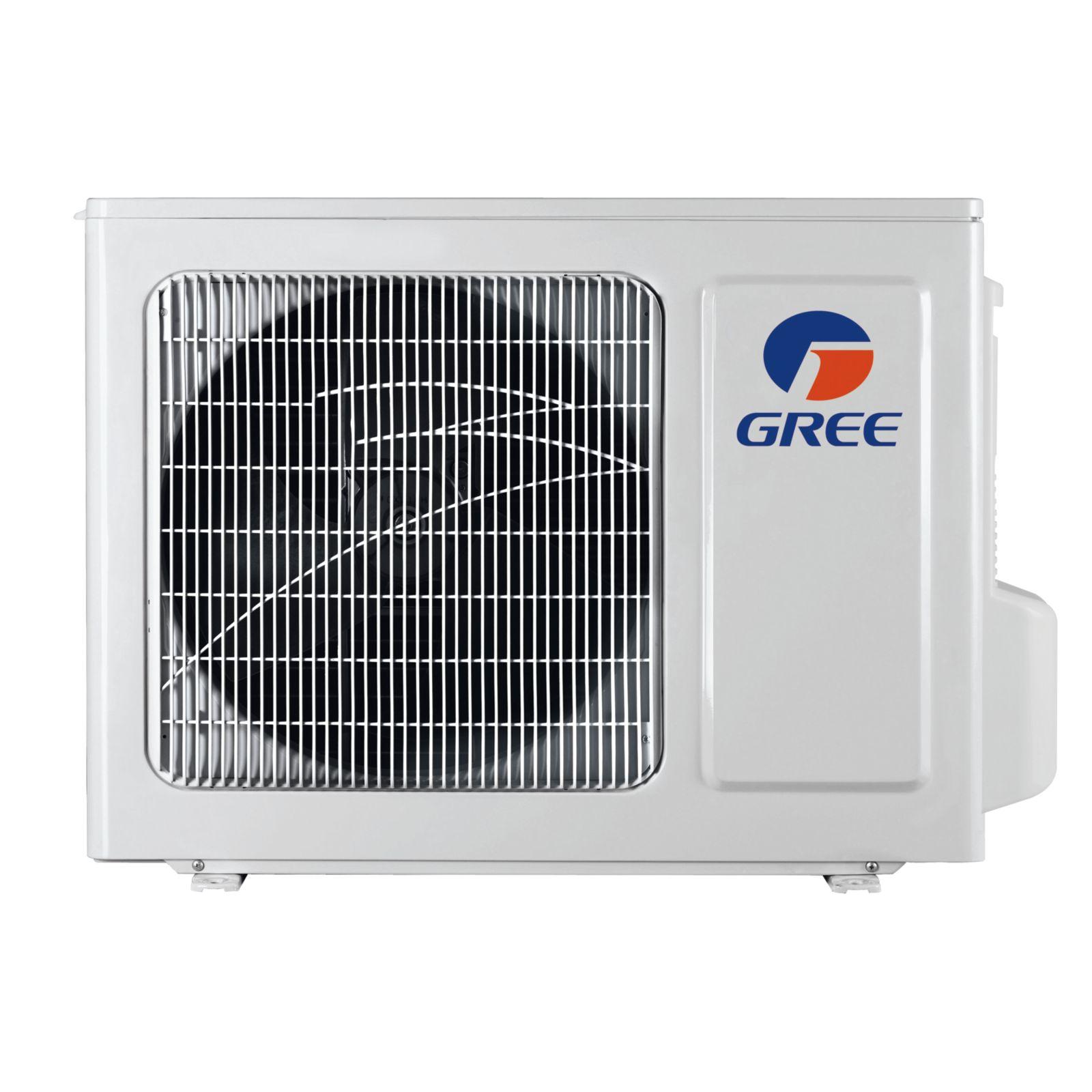 GREE Vireo+ WiFi 12k BTU 22SEER HP Outdoor Unit 115V