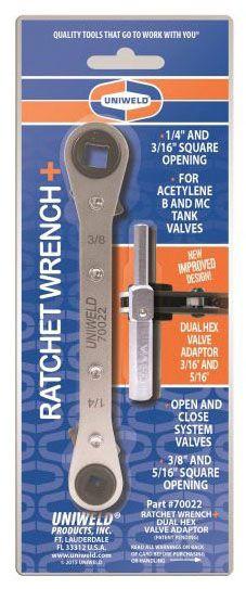 UNIWELD | Reversible Ratchet Wrench 70022