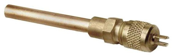 """CPS Copper Tube Extension Valve - Wrench Cap 1/4"""" x"""