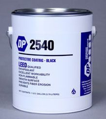 DP2540 Protective Coating -  Black 1gal (4/Pack)