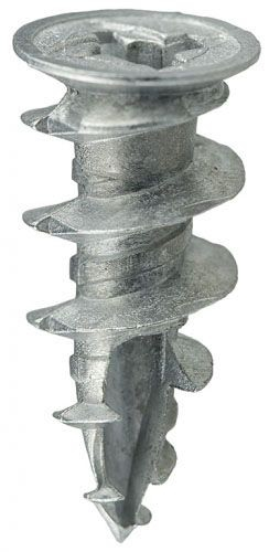 #8 Wall Driller Anchors Only Zinc (1 CS = 100 PCS)