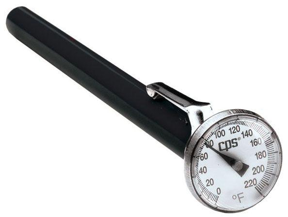 Analog pocket thermometer
