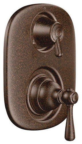 Oil Rubbed Bronze Moentrol(r) With Transfer Valve Trim