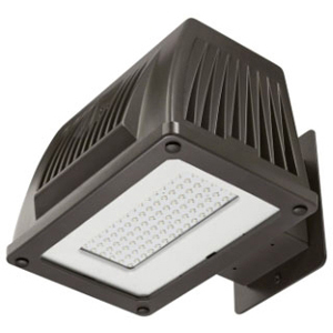 ATL WPM-43LED ATL LED WALLPACK 4500K 5025 LUMEN 120-277V BRONZE