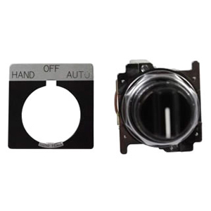 C-H 10250T22KB-POP 30.5MM ASSM, 3 POSITION MAINTAINED SWITCH; BLACK NON-ILLUMINATED