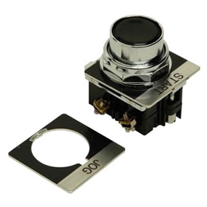 C-H 10250T30B-POP BLACK FLUSH PUSHBUTTON