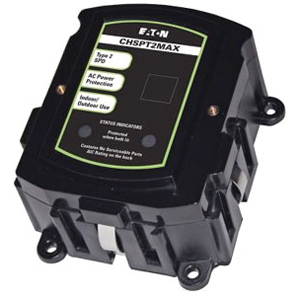 C-H CHSPT2MAX 1PH RESI SURGE DEVICE 72kA Surge Current per Phase Type 2 UL 1449 3rd Edition Listed Better $50,000 conn equip warranty