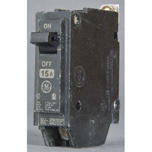 GE THQB1115 1P 15A 120V BOLT-ON CB