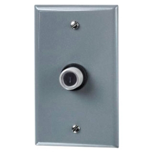 INT EK4336S BUTTON EYE P/E CONTROL MOUNTED IN GASKETED WALL PLATE LED RATED 105-305V MULTI-VOLT 1000W TUNGSTEN 1800W BALLAST 6amp 8yr Warranty