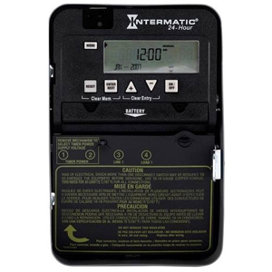 INT ET1105C INT ELEC TIME CLOCK SPST 30A N1 24 HOUR