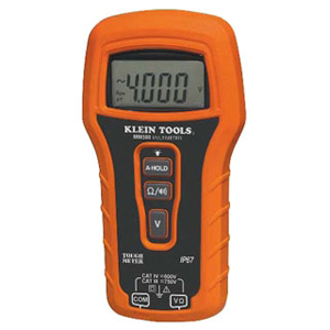 KLEIN MM500 Auto Ranging MultiMeter 750v AC/DC, Auto Hold feature Visible/Audible Continuity Indicatr