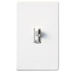 AY-603P-WH 3WY WHITE TOGGLE STYLE DIMMER W/PRE-SET