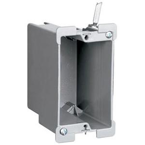P&S S1-18-W 1G PLSTC OUTLET BOX