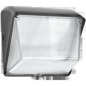 RAB WP1LED30 RAB LED WALLPACK 30W 5000K 120-277V 3060 LUMEN W/ GLASS LENS BRONZE (100W MH EQUAL)