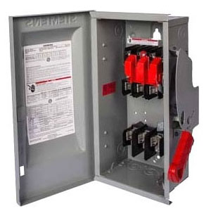 ITE HNF365RA 400A 3P 600V HD N3R Rain-Tite Non-Fused Safety Switch (use TYPE ECHV HUB)