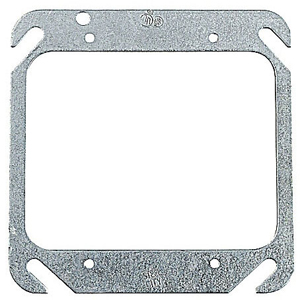 SC 52-C-00 4IN SQUARE TWO DEVICE FLAT COVER