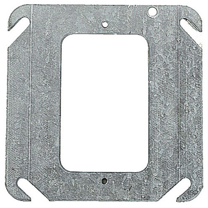 SC 52-C-0 4IN SQUARE ONE DEVICE FLAT COVER