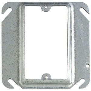 SC 52-C-13 4IN SQUARE ONE DEVICE 1/2IN RAISED COVER