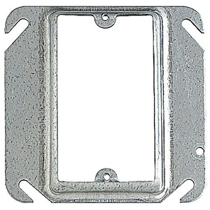 SC 52-C-14 4IN SQUARE ONE DEVICE 3/4IN RAISED COVER