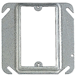 SC 52-C-15 4IN SQUARE ONE DEVICE 1IN RAISED COVER