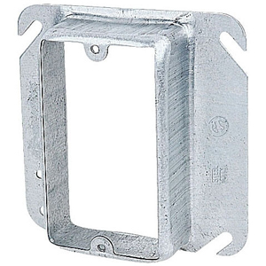 SC 52-C-16 4IN SQUARE ONE DEVICE 1-1/4 RAISED COVER