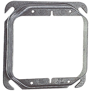 SC 52-C-18 4IN SQUARE TWO DEVICE 3/4IN RAISED COVER