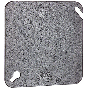 SC 52-C-1 4IN SQUARE FLAT BLANK COVER