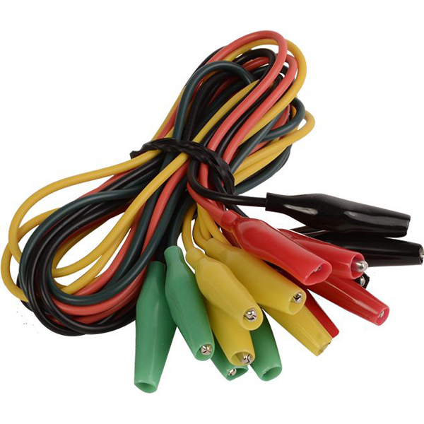 """22"""" Test Lead with Fully Insulated Alligator Clip - DEVCO, Low Voltage"""