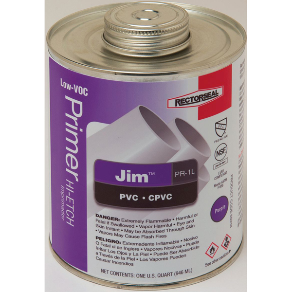 Liquid Primer - Jim, Purple, Low-VOC hi-etch, 1 Quart Can
