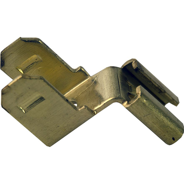"""2-Male 1-Female Insulated Tab Adapter - DEVCO, Stacked, 1/4"""""""