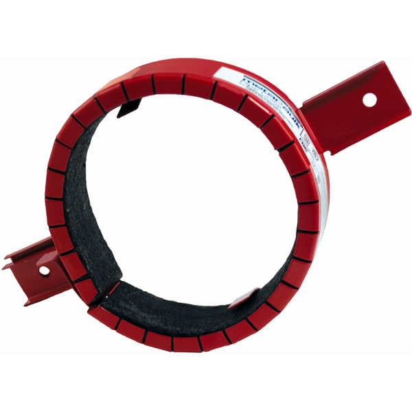 "3"" Red Firestop System Pipe Collar"