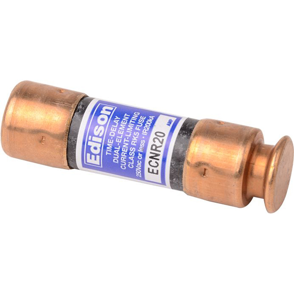 20 A Dual Element Time Delay Fuse - Class RK5, 250 V