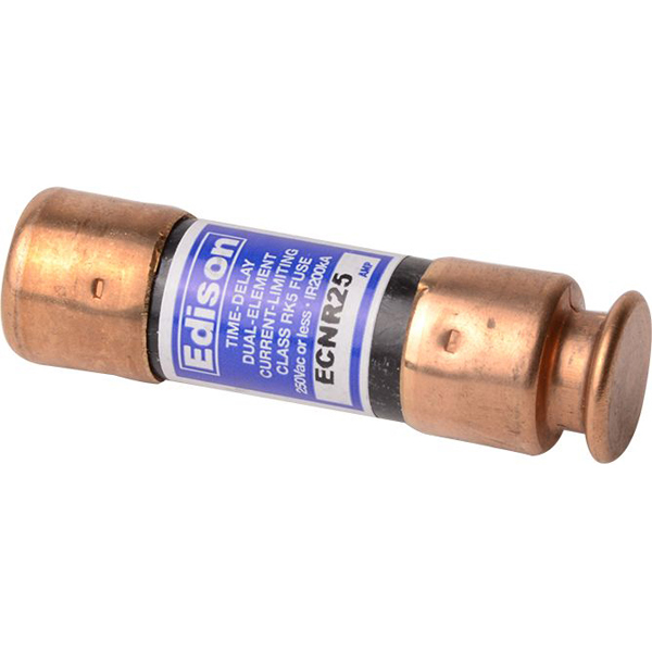 25 A Dual Element Time Delay Fuse - Class RK5, 250 V
